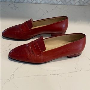 🌟 Vintage Bally Leather Colibri Italian Loafer
